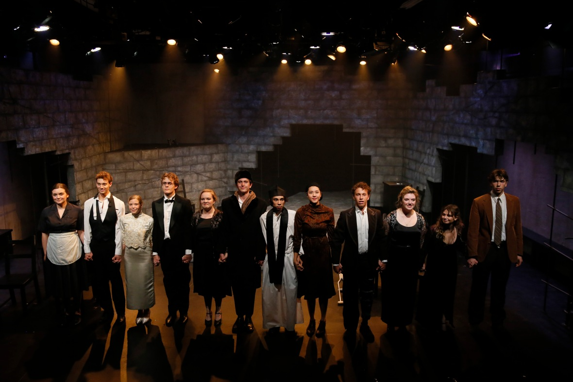 "The USC School of Dramatic Arts performance of ""Mad Forest"""
